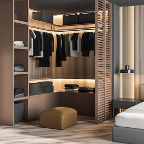 customised wardrobe design service