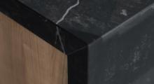 DT1 kitchen marble vein countertop