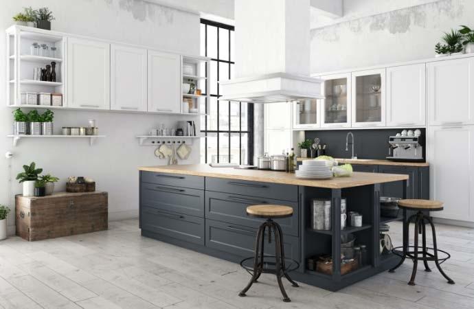 Netto Kitchen design collection - Patria range