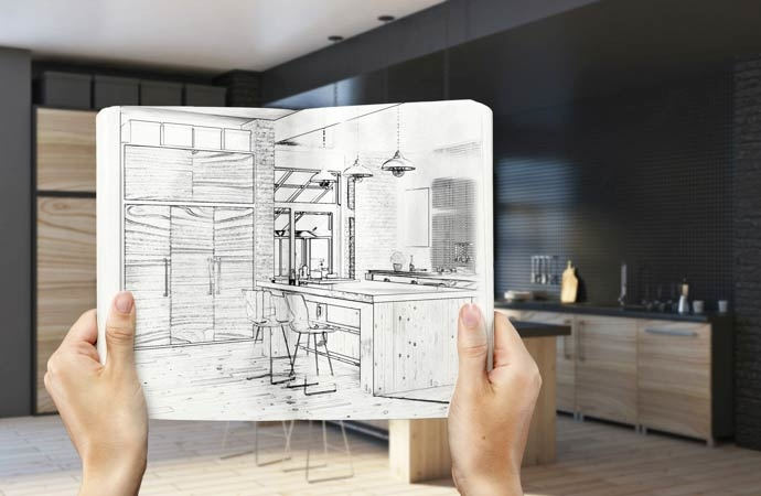 Tailor made kitchen design solutions