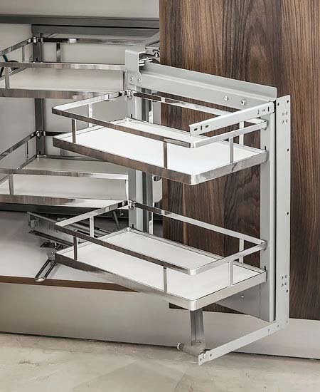 Tailor-made magic pullout drawers