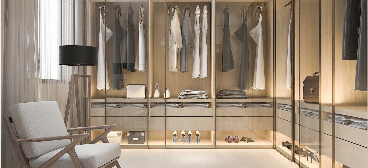 Custom made wardrobe furniture design